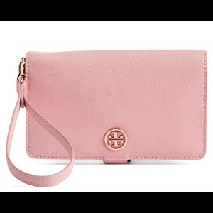 NWT Tory Burch wallet with crossbody straps